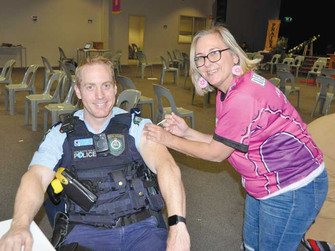 PROTECTING THE COMMUNITY – LET'S GET VACCINATED!