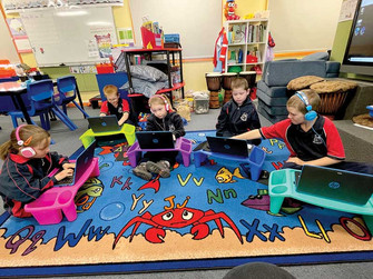 Vital internet connection for local bush schools