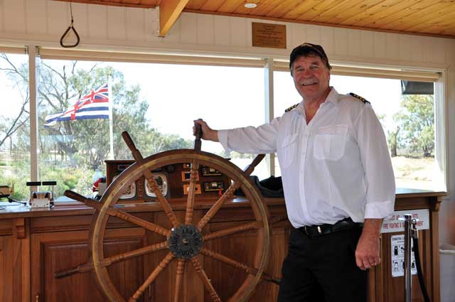 New Jandra Captain takes to the Darling River