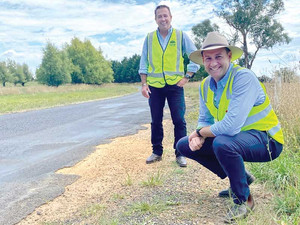 Far west roads get extra $45 million