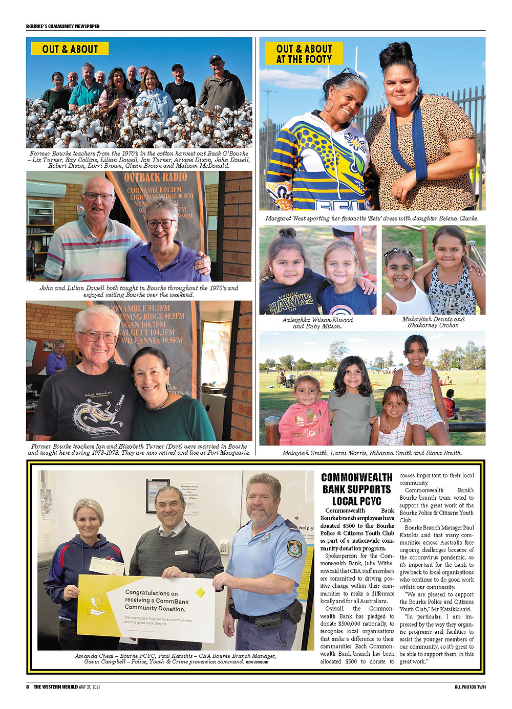 See more Out & About photos in the printed edition of The Western Herald. To subscribe call (02) 6872 2333 today and receive The Western Herald in your letterbox next week!