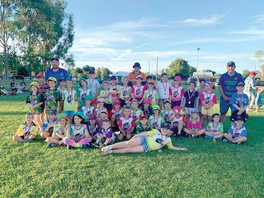 Bourke Junior Cricket Report – Getting through without rain delays