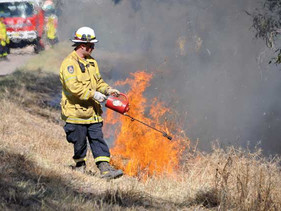 Controlled burn a big success