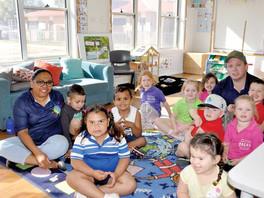 Healthy Kids Bus Stop for pre-schoolers