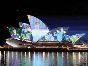 Brewarrina's Dan Kelly honoured on Sydney Opera House