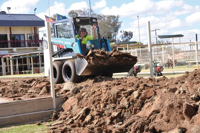 Big picture upgrade on Bourke bowling green