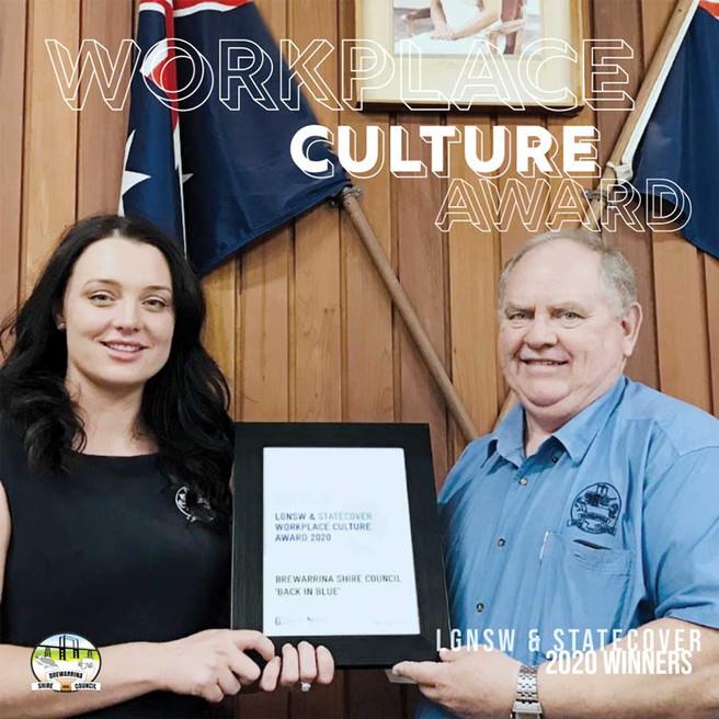 Brewarrina Council wins Workplace Award
