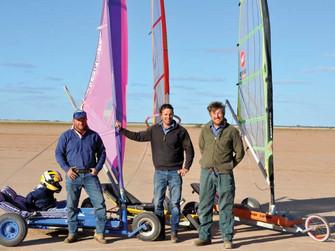 Sailing on Bourke's open plains