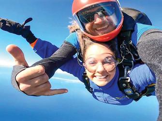 Sky Diving over Bourke