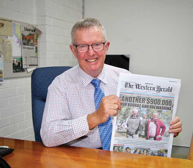 Federal Member secures funds for The Western Herald