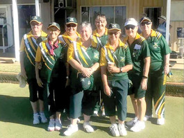 Bourke Bowling Club — Ladies start the season with a win