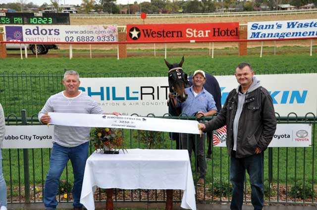 Horse Racing – Horse with local connections wins at Dubbo