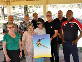 Percy Hobson Mural to inspire Bourke