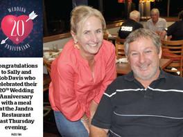 Congratulations Sally and Rob!