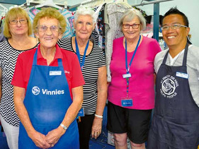 Hands up to help Vinnies!