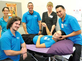 Osteopathy students bring relief to the outback