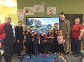 NSW Governor tours Louth, Bourke, Brewarrina, and Goodooga