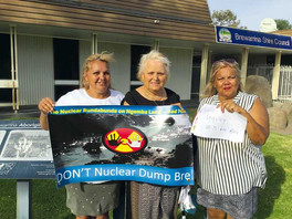 Nuclear waste protest in Brewarrina