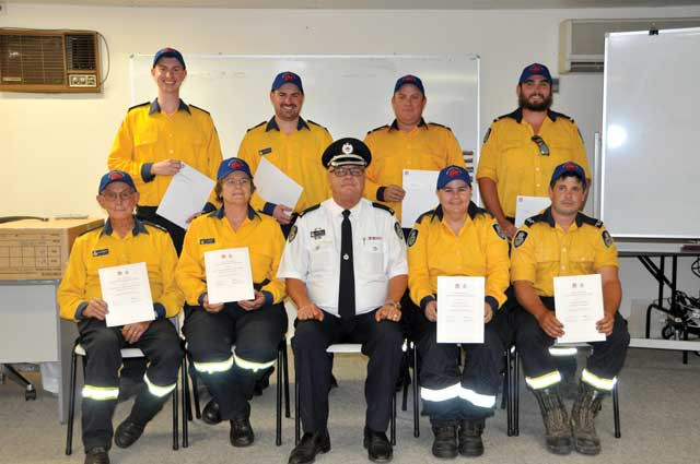 Rural Fire Service Awards of Recognition