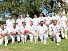 Brewery Shield Cricket — Bourke runners up in grand final