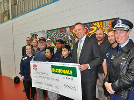 Half a million dollars to upgrade Bourke PCYC