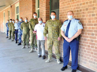 ADF stays in bush to help boost vaccination rates