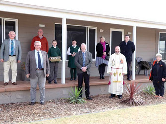 Official opening and blessing of teacher housing