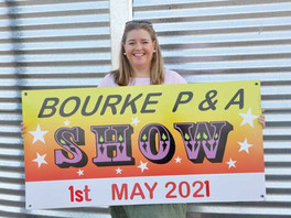 Save the date for the Bourke P&A Show May 1st 2021