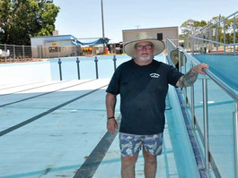 No Olympic pool for Bourke this summer