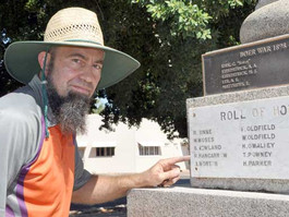 Cenotaph repairs completed