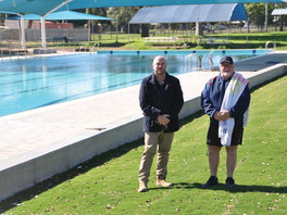Funds toupgrade the children's pool
