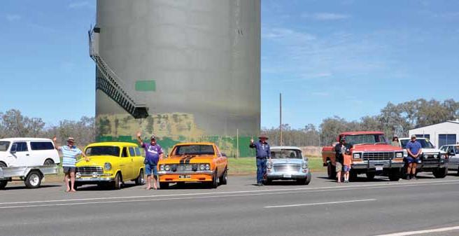 Car club visits Brewarrina