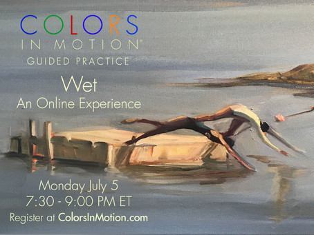 """Join us: """"Wet"""" Online Practice Group - Monday July 5, 2021"""