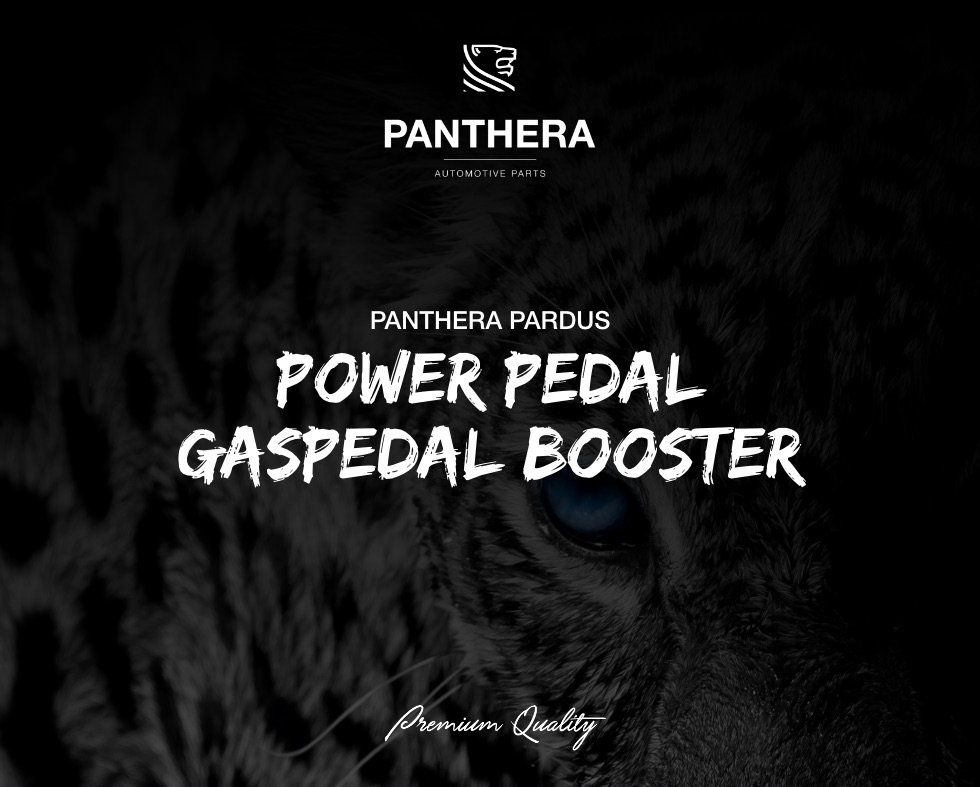 Panthera Pardus Power Pedal Gaspedal Boo