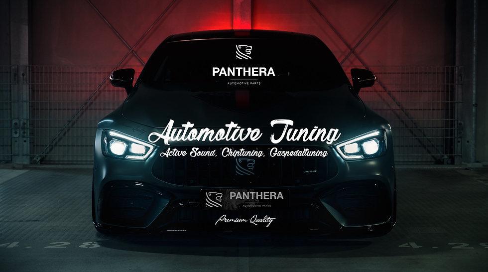 Panthera Shop Header – AMG Night – Titel