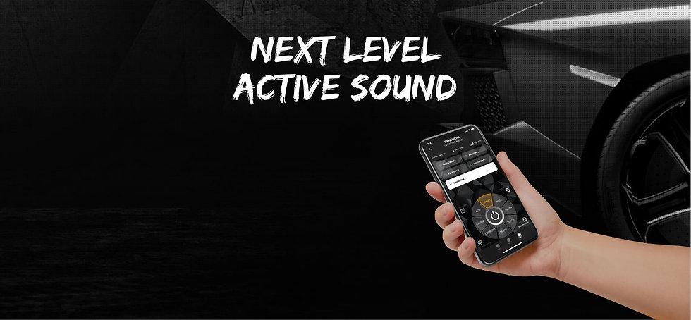 Next Level Active Sound Leo ASC mit App.