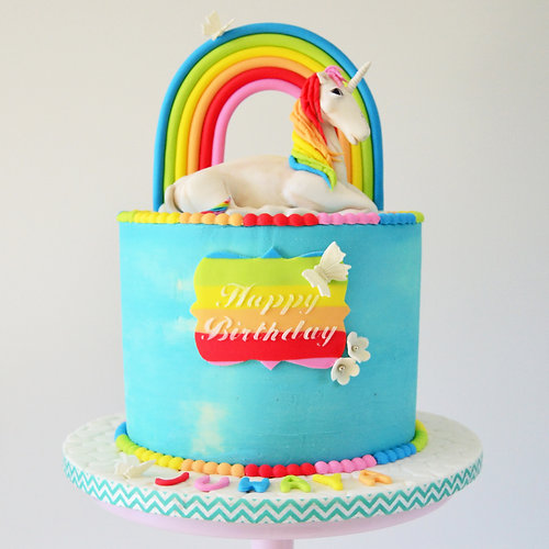 Wedding Cakes Cape TownSugar Tree Cakerie Unicorn Rainbow