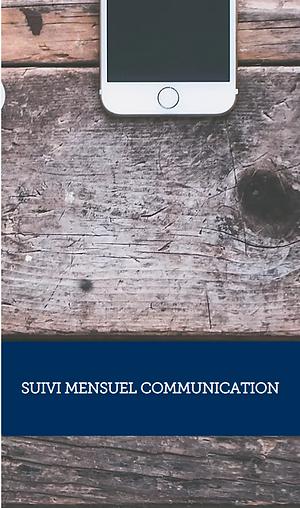 Suivi mensuel en communication