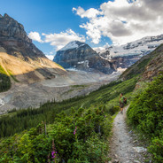 Plain of Six Glaciers (Banff N.P.)
