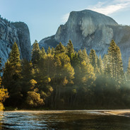 Half Dome Morning Light (Yosemite N.P.)