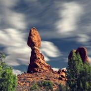 Balance Rock Arches NP