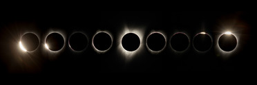 Great American Eclipse 2017 - Diamond Ring To Diamond Ring (2)