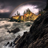 Oregon Coast Rainbow