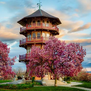 Pagoda Sunset (Patterson Park - Baltimore)