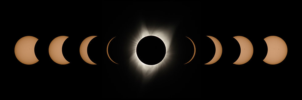 Great American Eclipse 2017 - The Suns Phases