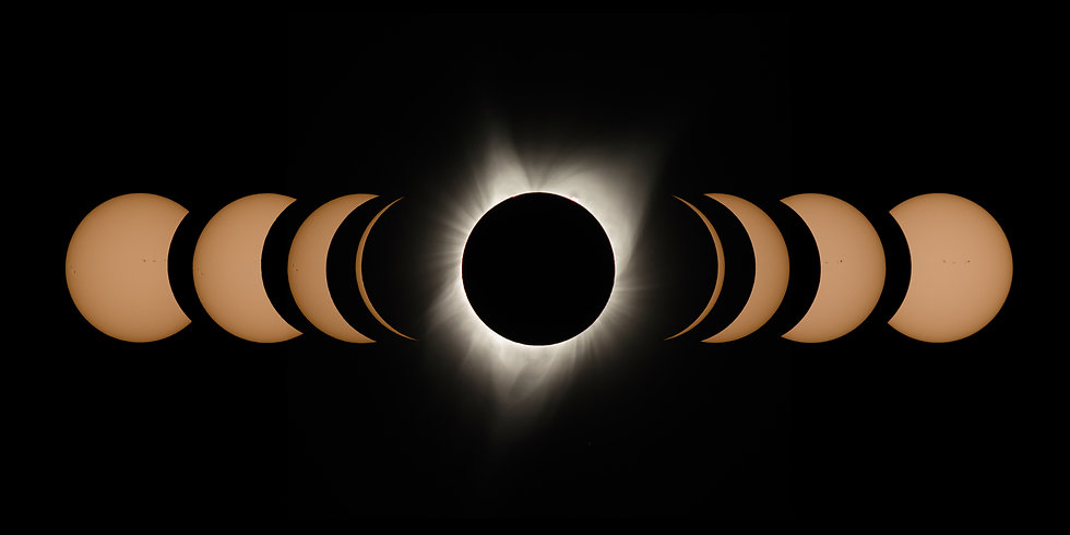 Great American Eclipse 2017 - The Suns Phases (2)