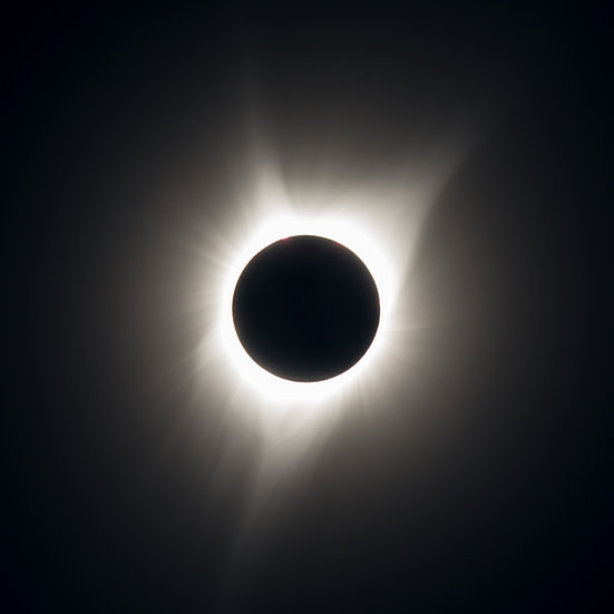 Great American Eclipse of 2017 - Outer Corona During Totality