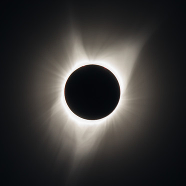 Great American Eclipse of 2017 - Outer Corona During Totality (2)
