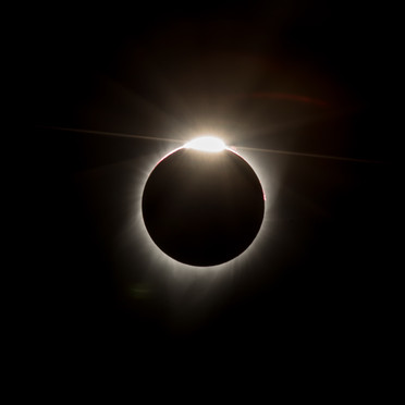 Great American Eclipse - Diamond Ring 3rd Touch