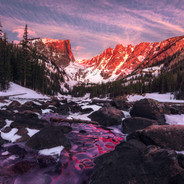 Dream Lake Sunrise (Horizontal)